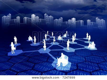 Online sociaal netwerk