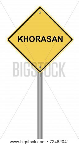 Warning Sign Khorasan