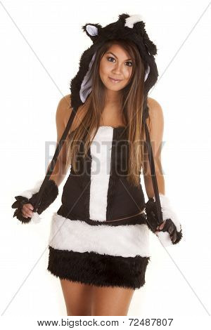 Costume Woman Skunk