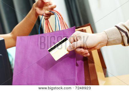 Passing Credit Card