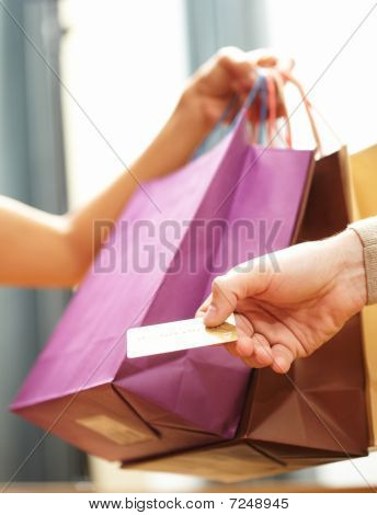 Payment By Plastic Card