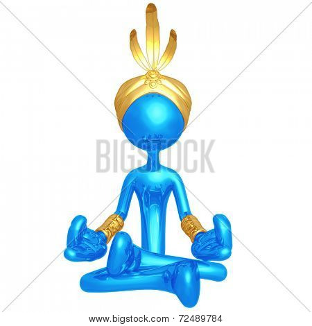 Djinn In Meditation
