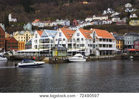 Old Houses On The Waterfront