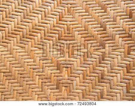 Handicraft Pattern Of Rattan Weave