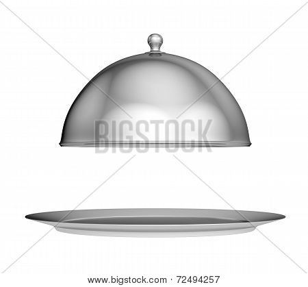 Restaurant cloche with lid