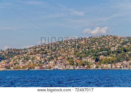 Istanbul coastal Sariyer