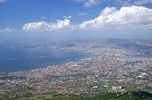 foto of breathtaking  - Breathtaking picturesque landscape of Naples and Gulf of Naples - JPG