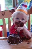 stock photo of birthday party  - girl