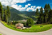 pic of south tyrol  - Valley in South Tyrol - JPG