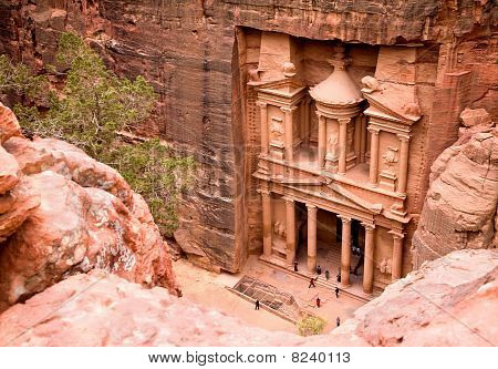 Das Finanzministerium. antike Stadt petra