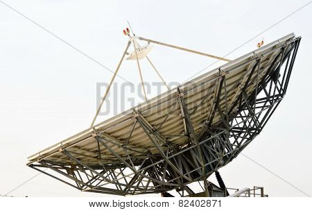 big satellite dish