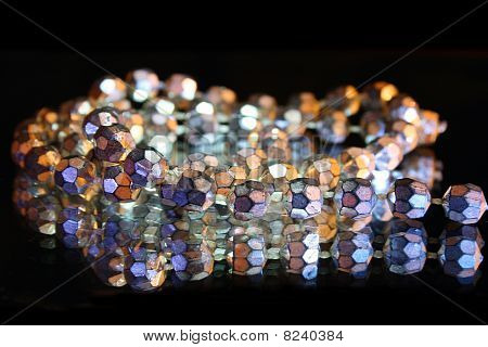 Sparkling beads