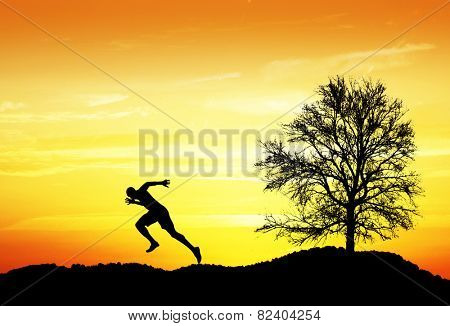 the fastest runner in the countryside,