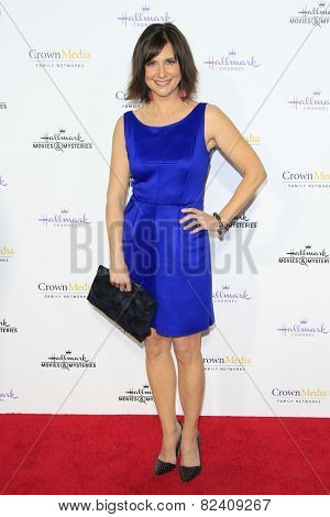 LOS ANGELES - JAN 8: Kellie Martin at the TCA Winter 2015 Event For Hallmark Channel and Hallmark Movies & Mysteries at Tournament House on January 8, 2015 in Pasadena, CA