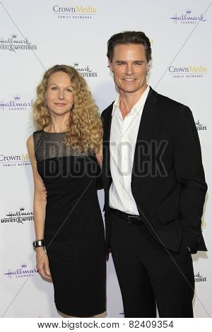 LOS ANGELES - JAN 8: Dylan Neal at the TCA Winter 2015 Event For Hallmark Channel and Hallmark Movies & Mysteries at Tournament House on January 8, 2015 in Pasadena, CA