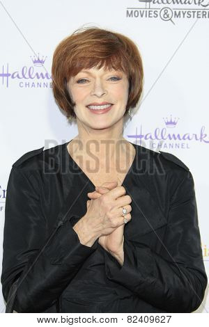 LOS ANGELES - JAN 8: Frances Fisher at the TCA Winter 2015 Event For Hallmark Channel and Hallmark Movies & Mysteries at Tournament House on January 8, 2015 in Pasadena, CA