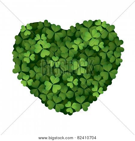 Clover leaves - love