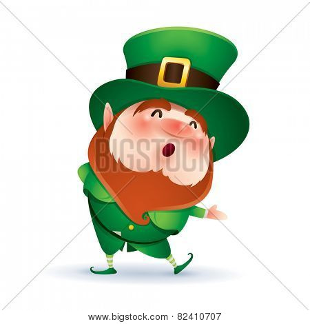 Leprechaun welcoming