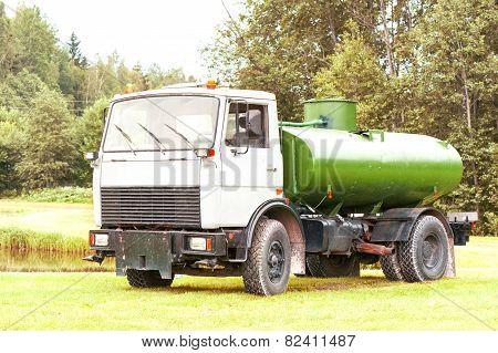 Tank Truck Maz.