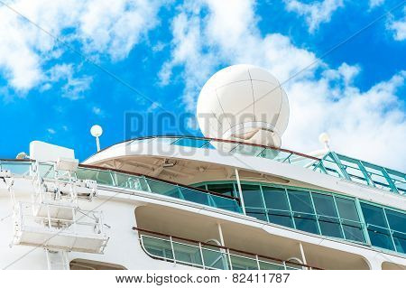 Radar, Safety And Navigation Equipment On Passenger Ship.