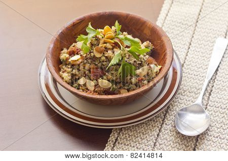 Smoky Quinoa And Bacon Salad