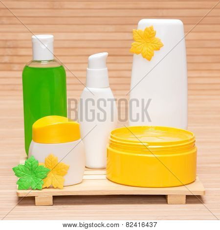 Different Cosmetic And Spa Products