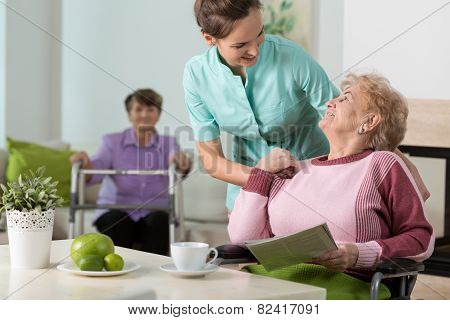 Working In Old People's Home