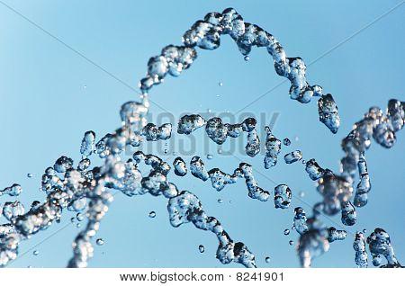 Gush Of Water