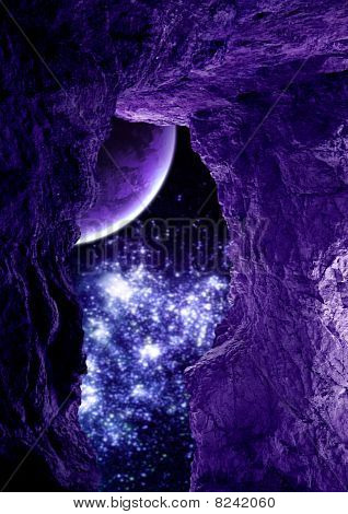 Purple Cavern