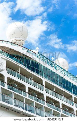 Radar, Safety And Navigation Equipment On Passenger Ship.