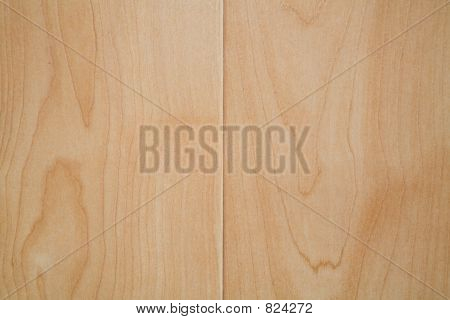DIY project: closeup on texture of finished maple laminate floor