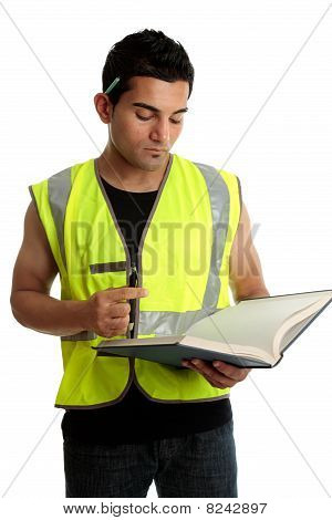 Construction Worker Or Student