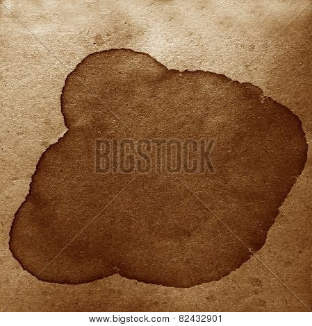 watercolor abstract background paint color brown blob design spl