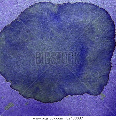 watercolor abstract background paint purple color blob design sp