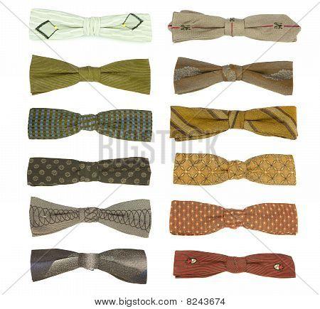 12 Vintage Bow-ties