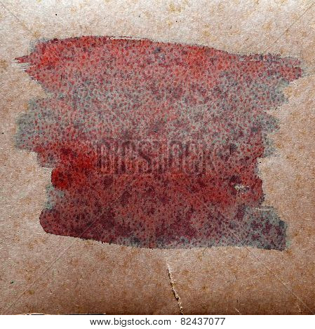 watercolor brown, red abstract background paint color blob desig