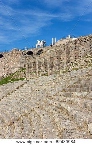 Amphitheater In Bergama Acropolis