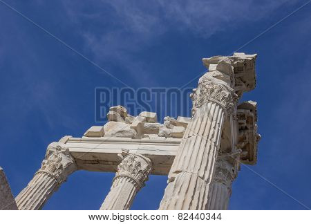 Columns And Fronton Parts