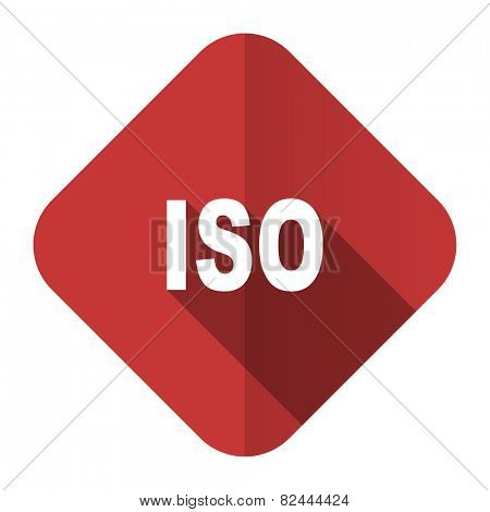 iso flat icon