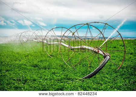 Farm irrigation
