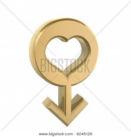 Golden Male Sex Symbol