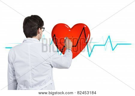 Doctor Listens Pulse