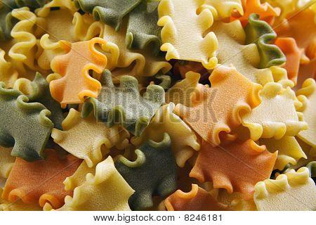 Pasta Tricolor Background