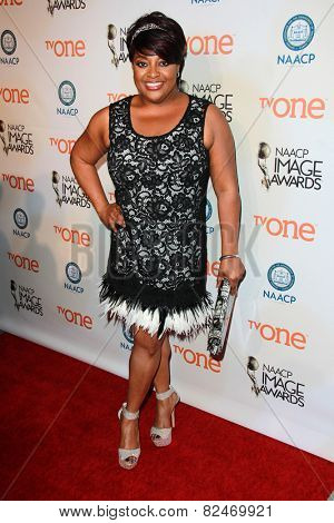 LOS ANGELES - FEB 5:  Sherri Shepherd at the 46th NAACP Image Awards Non-Televised Ceremony  at a Pasadena Convention Center on February 5, 2015 in Pasadena, CA