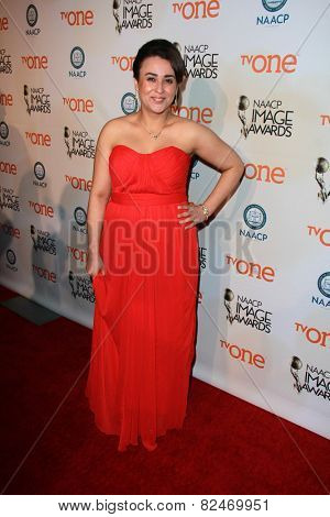 LOS ANGELES - FEB 5:  Brigitte Munoz-Liebowitz at the 46th NAACP Image Awards Non-Televised Ceremony  at a Pasadena Convention Center on February 5, 2015 in Pasadena, CA