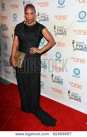 LOS ANGELES - FEB 5:  Liv Warfield at the 46th NAACP Image Awards Non-Televised Ceremony  at a Pasadena Convention Center on February 5, 2015 in Pasadena, CA