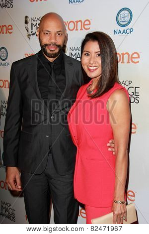 LOS ANGELES - FEB 5:  John Ridley, Gayle Ridley at the 46th NAACP Image Awards Non-Televised Ceremony  at a Pasadena Convention Center on February 5, 2015 in Pasadena, CA