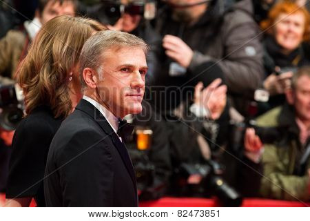 BERLIN, GERMANY - FEBRUARY 05: Christoph Kier. Nobody Wants the Night, Opening Night premiere  65th Berlinale International Film Festival at Berlinale Palace on February 5, 2015 in Berlin, Germany