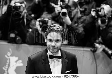 BERLIN, GERMANY - FEBRUARY 05: Daniel Bruehl. Nobody Wants the Night, Opening Night premiere  65th Berlinale International Film Festival at Berlinale Palace on February 5, 2015 in Berlin, Germany