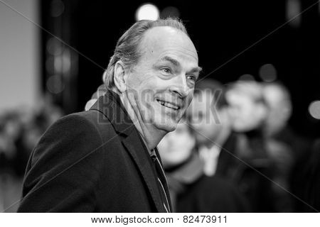 BERLIN, GERMANY - FEBRUARY 05: Herbert Knaup, the Nobody Wants the NightOpening Night premiere, 65th Berlinale International Film Festival at Berlinale Palace on February 5, 2015 in Berlin, Germany.
